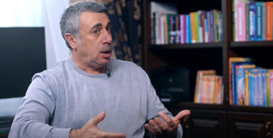 Євген Комаровський, коронавірус, повторне зараження