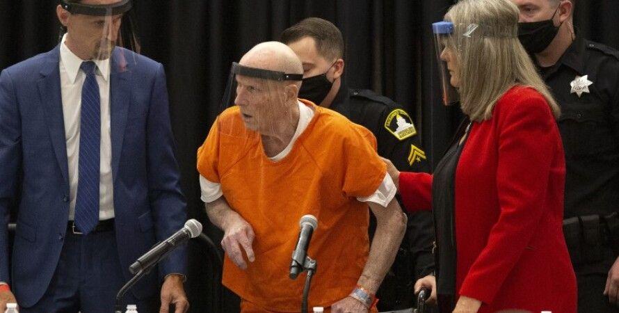 """Ночной сталкер"" в зале суда/Фото: NY Post"