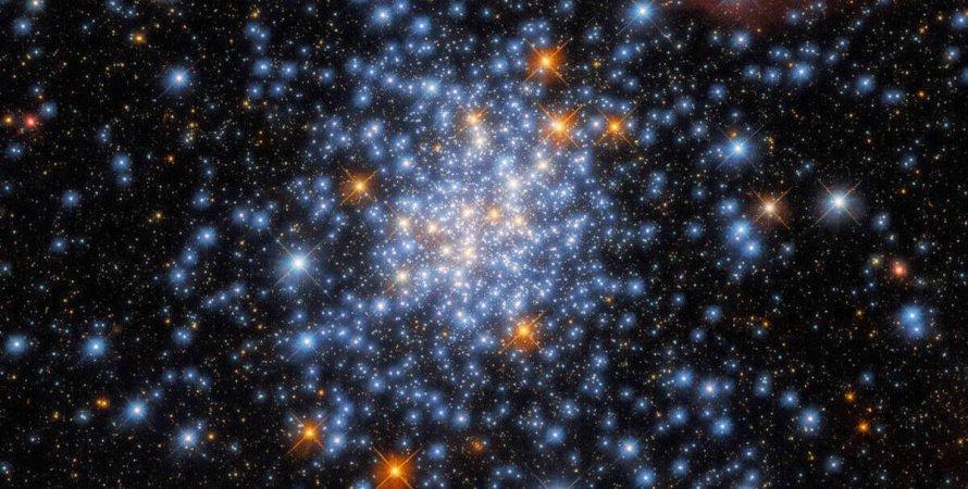 звездное скопление, космос, мерцание, фото