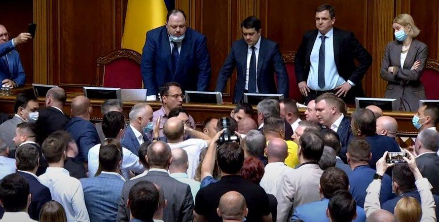 Драка, Никита Потураев, Верховная Рада