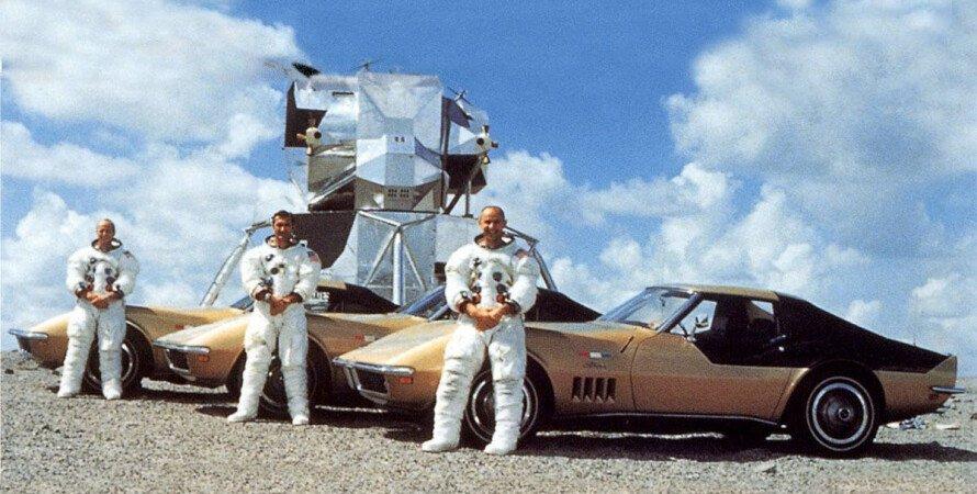 Астронавти NASA, астронавти NASA Chevrolet Corvette
