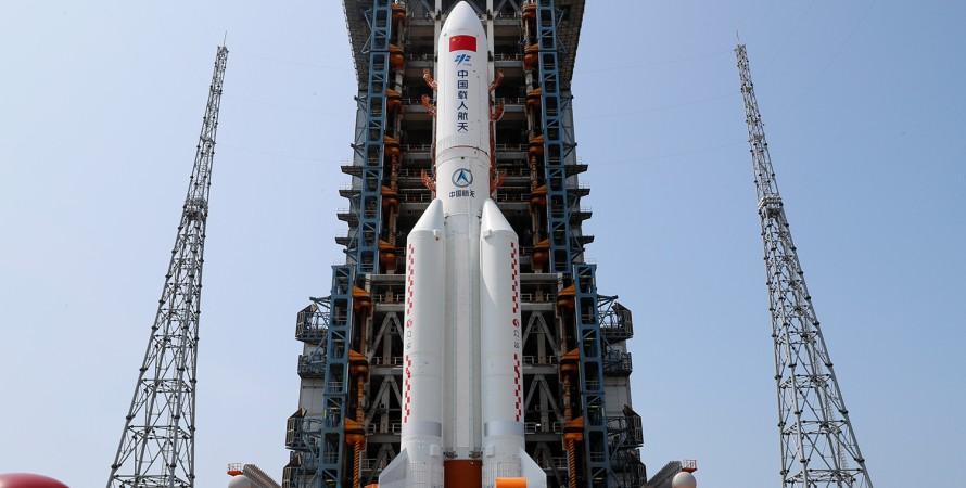 """""""Чанчжэн-5"""" CZ-5B, Long March 5B, китайская ракета, где упадет, время падения, место падения, азия, туркменистан"""