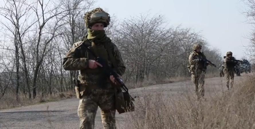 вчення ЗСУ, ЗСУ на кордоні з Кримом, антидиверсійній вчення
