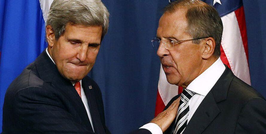 Джон Керри и Сергей Лавров / Фото: REUTERS