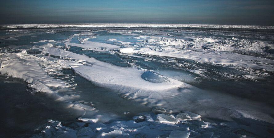 Бердянская коса, Азовское море, Арктика
