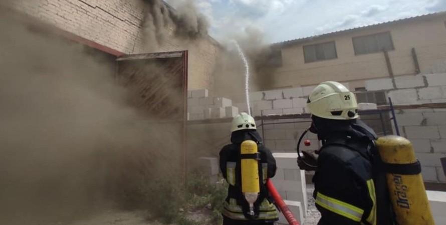 Куреневка, склады, пожар,