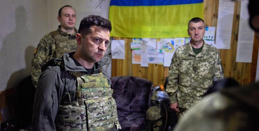 Владимир Зеленский в военной форме