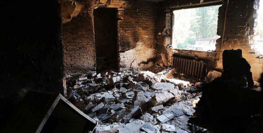 Разрушения в Донецке / Фото: Getty Images