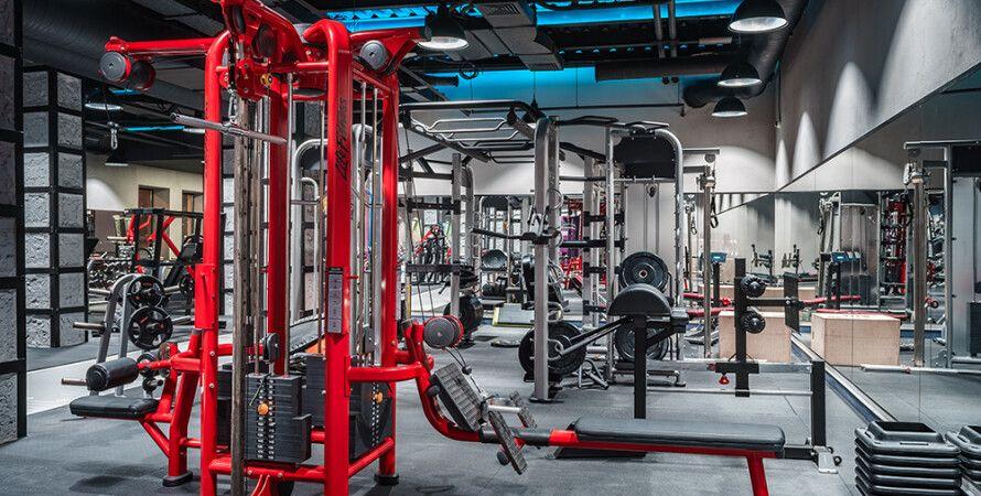 Спортзал Sport Life, станова тяга, рекорд по становій тязі