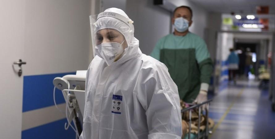 коронавирус, врачи, фото