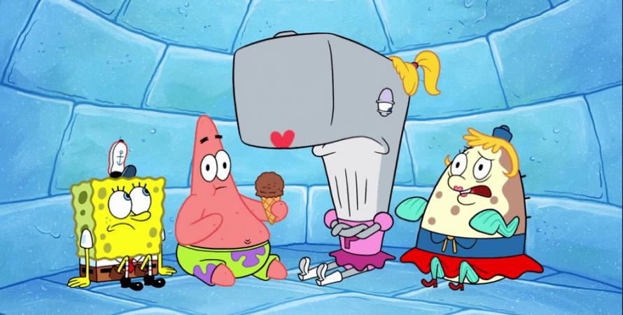 губка боб, мультфильм, губка боб квадратные штаны, spongebob