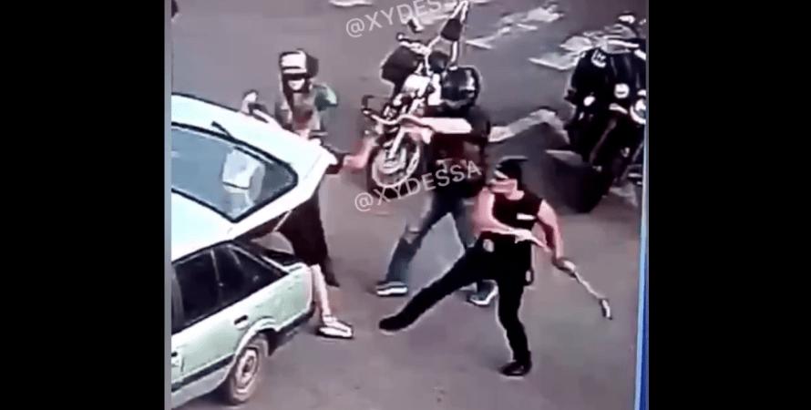 байкери атакували молоду пару в Черкасах