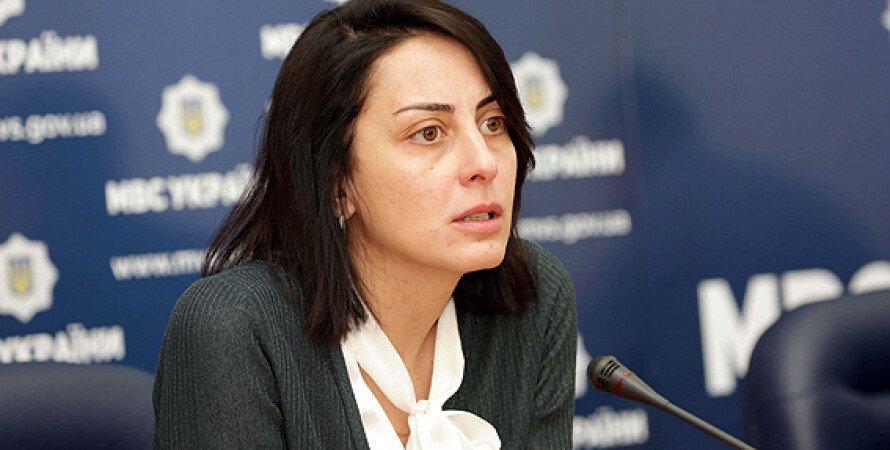 Руководитель Национальной полиции Хатия Деканоидзе / Фото: mvs.gov.ua