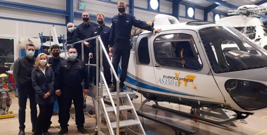 вертольоти франції, держприкордонслужба навчається експлуатації
