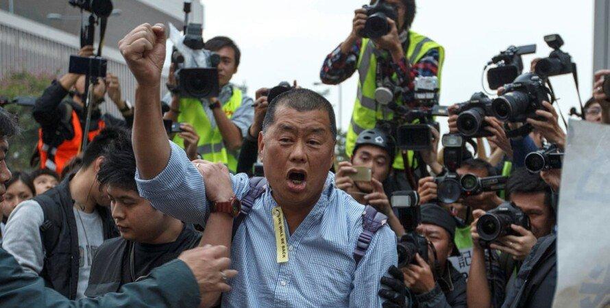 джимми гавкіт, протести в Гонконзі