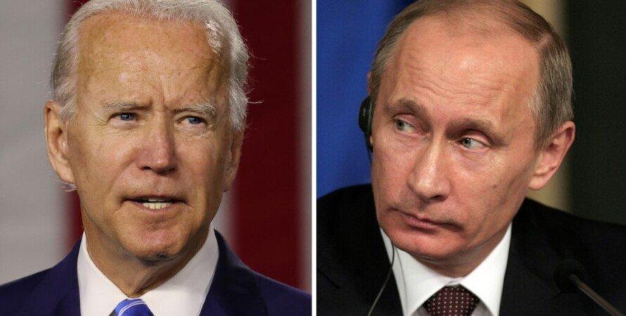 Джо Байден, Владимир Путин, двусторонняя встреча, эскалация на Донбассе