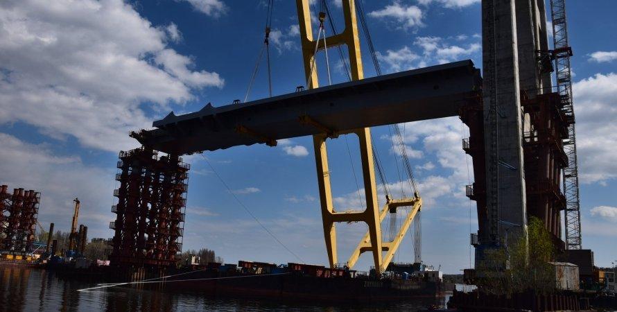 мост, запорожье, строительство, строительство моста