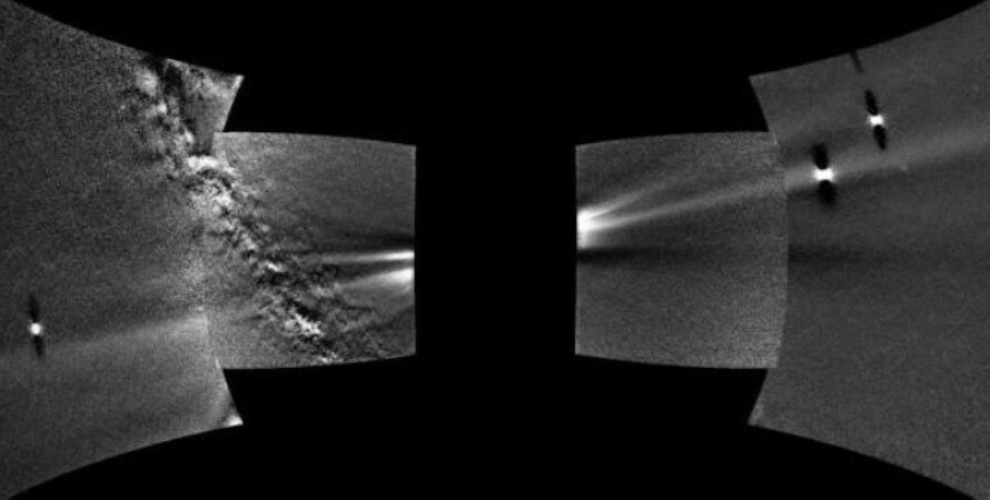 Венера, орбита, пылевое кольцо, солнечный ветер