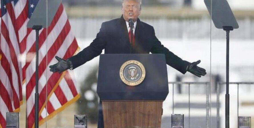 Дональд Трамп, Майкл Пенс, Марш, Штурм Капитолия, Секретная служба, Безопасность