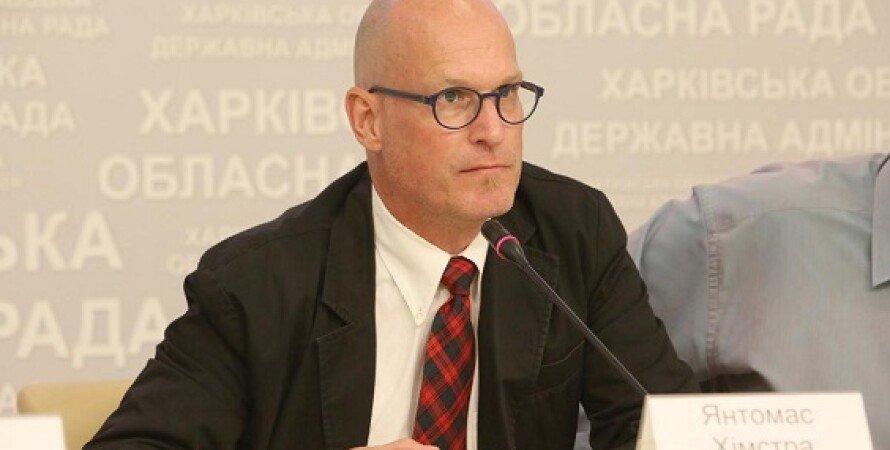 Янтомас Химстра / Фото: kharkivoda.gov.ua