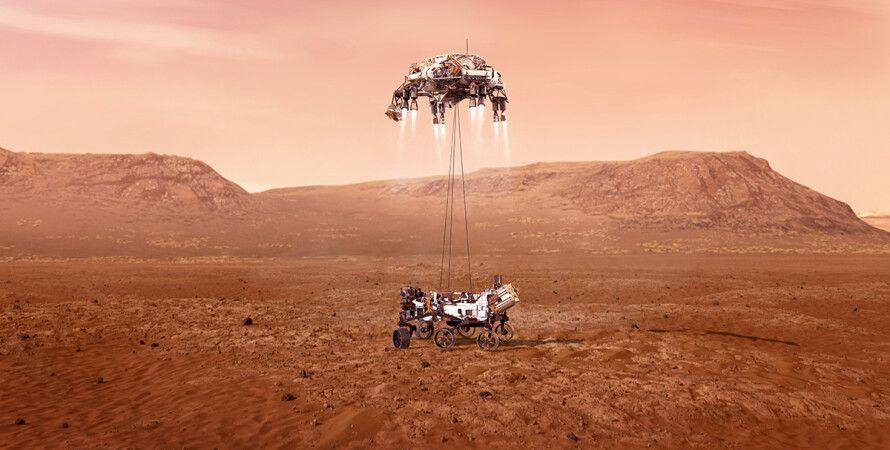 наса, NASA, марс, марсохід, позаземне життя, червона планета, марсохід Perseverance