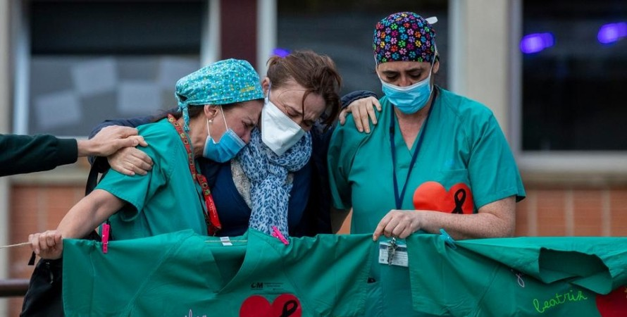 коронавірус, лікарня, лікарі, фото