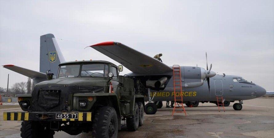 самолет ан26, антонов, ан-26, ввс украины, эксплуатация ан-26, полеты ан-26, впс украины