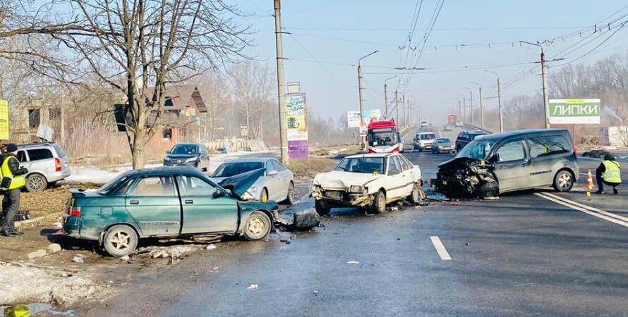 дтп, авария, ивано-франковск, полиция, погибшие