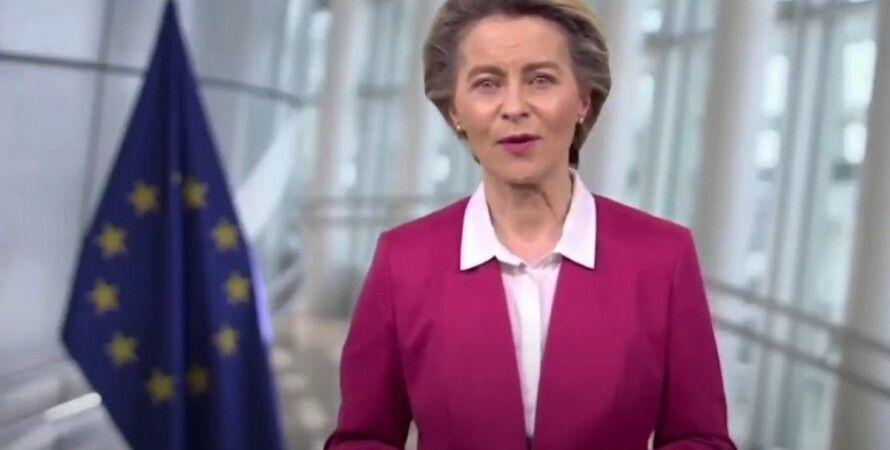 Урсула фон дер Ляєн, Єврокомісія, форум, коронавірус