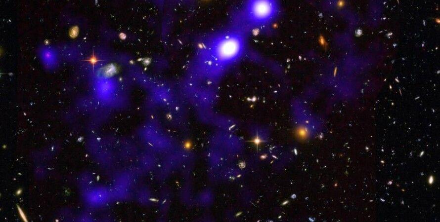 Всесвіт, галактики, космічні нитки
