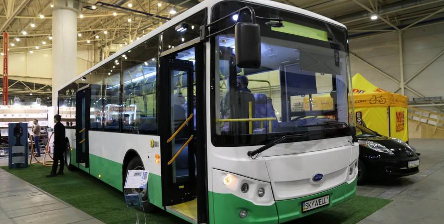 электроавтобус для киева, закупка электроавтобусов, электроавтобус
