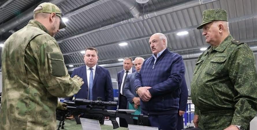 Олександр Лукашенко, Білорусь, стрілянина, навчання,