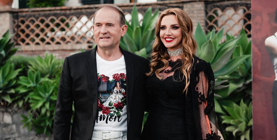 Виктор Медведчук, Оксана Марченко