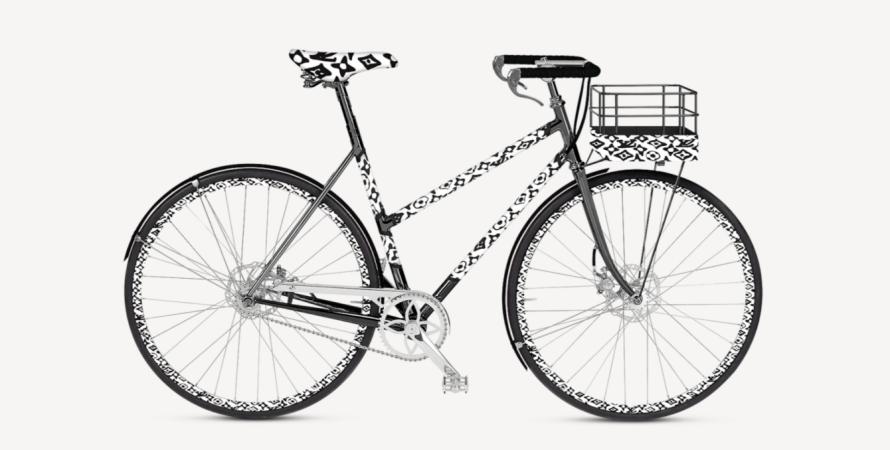 Louis Vuitton велосипед