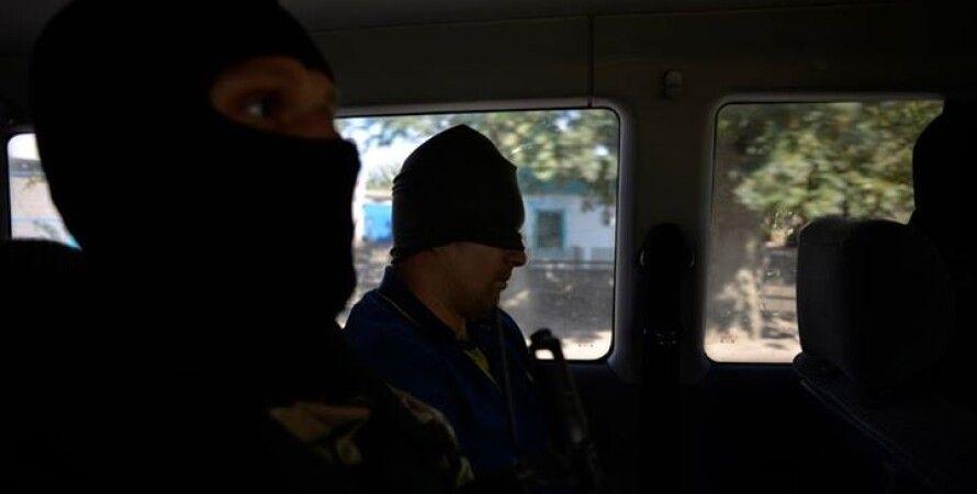 Задержанный диверсант / Фото пресс-службы батальона спецназначения
