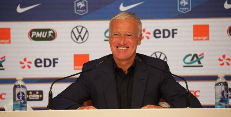 Дідьє Дешам, Чемпіонат світу-2022, збірна України, збірна Франції