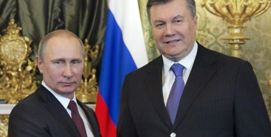 Путин и Янукович / Фото: prezident.gov.ua