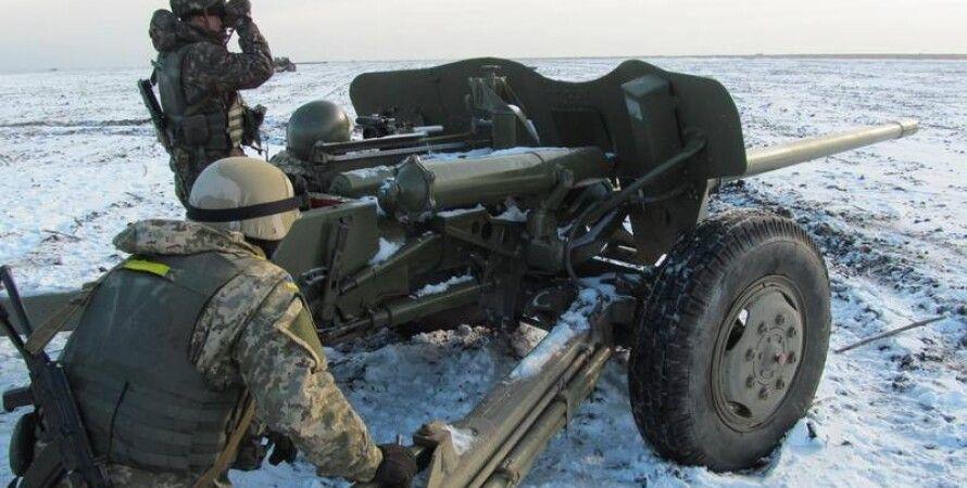 Бойцы АТО в Донбассе / Фото пресс-службы Минобороны