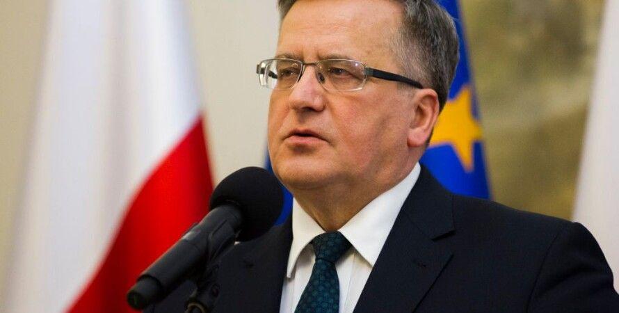 Бронислав Коморовский / Фото пресс-службы президента Польши
