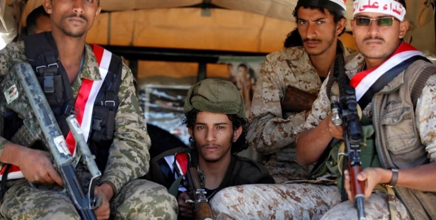 повстанцы, хуситы, йемен, фото
