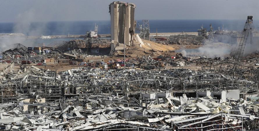взрыв селитры в ливане