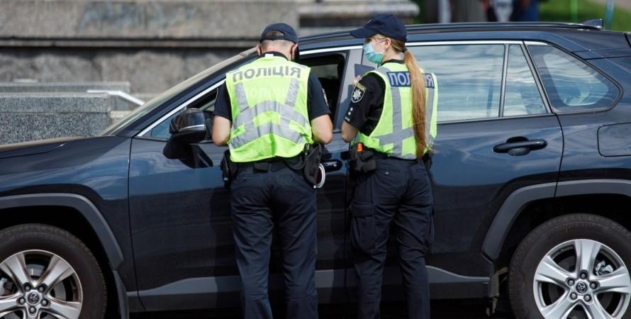 Схема вымогательства денег полицией у водителей