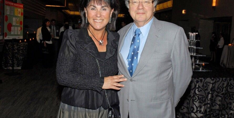 Барри Шерман с женой /  Фото: Reuters