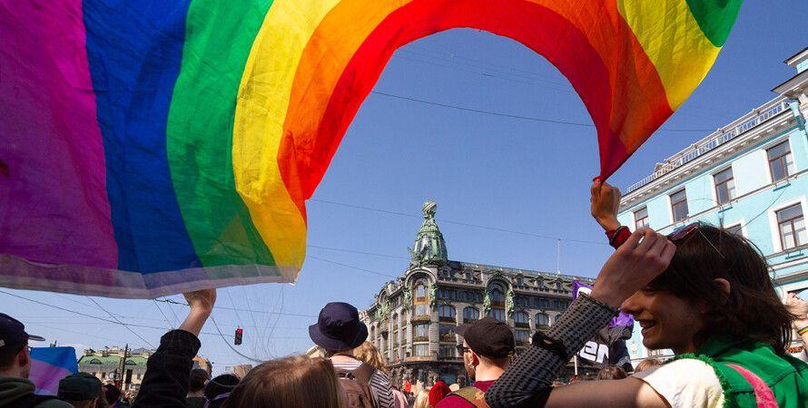 Флаг ЛГБТ, геи, лесбиянки, гомосексуалы, гомосексуальность, однополые браки