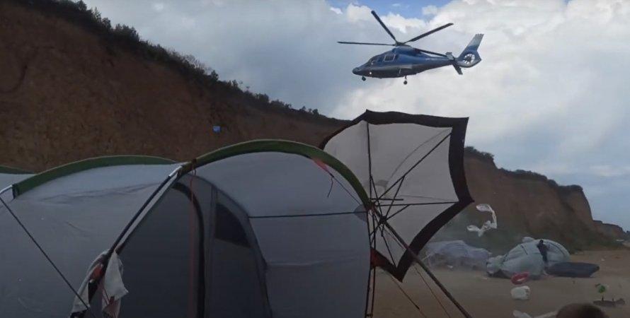 Вертолет, Грибовка
