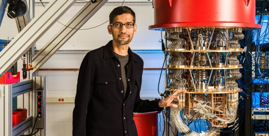 квантовий комп'ютер, Google, Сундар Пічаї