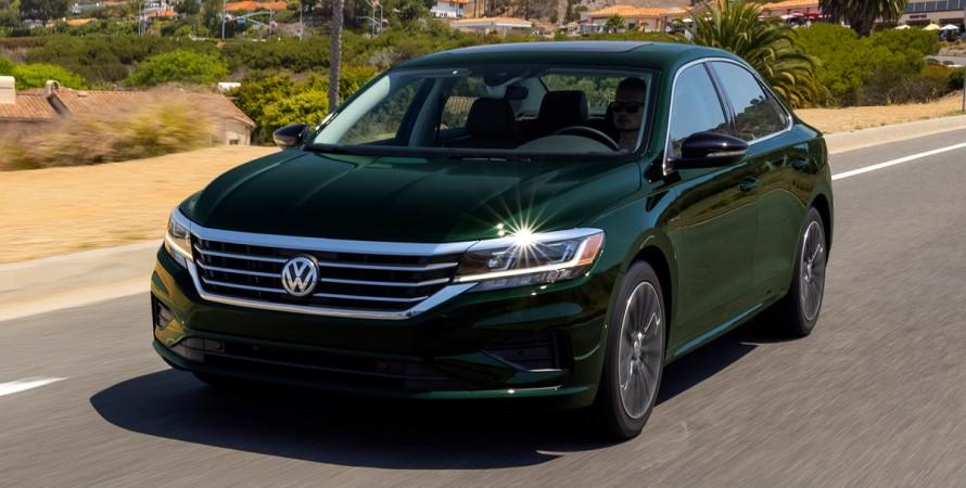 Американський Volkswagen Passat знімають з виробництва