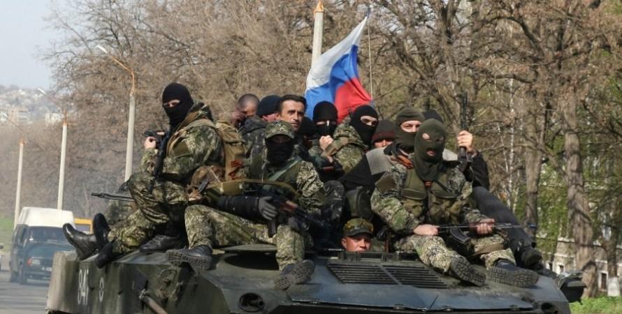 війна на Донбасі, російські війська на Донбасі, вторгнення РФ на Донбас