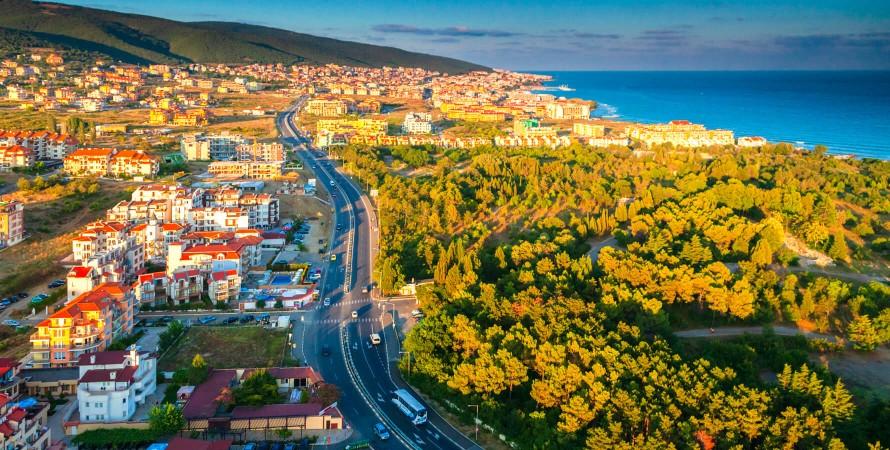 відпочинок в Болгарії — панорама узбережжя