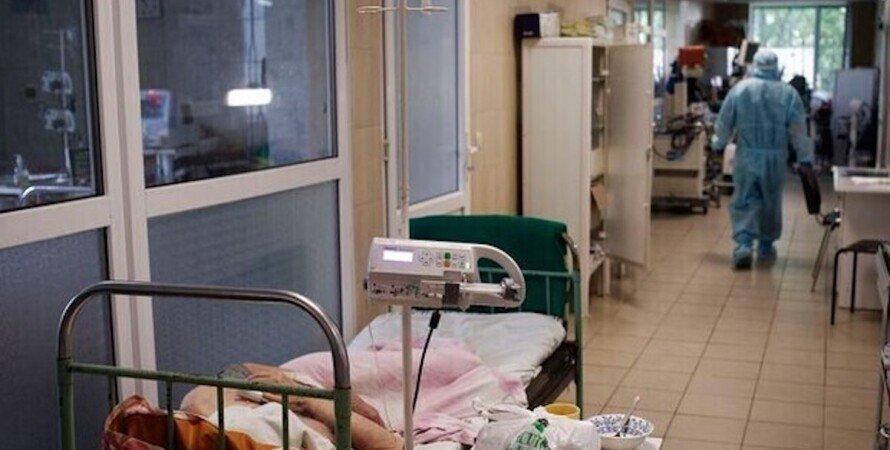 Коронавірус, лікарня, Україна, лікарі, пацієнти